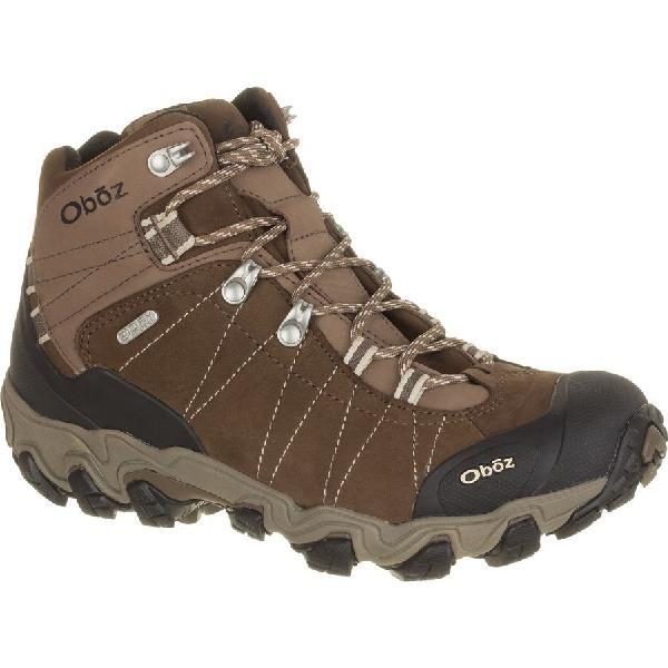 (取寄)オボズ レディース ブリッガー ミッド ビ-ドライ ハイキング ブーツ Oboz Women Bridger Mid BDry Hiking Boot Walnut 【コンビニ受取対応商品】