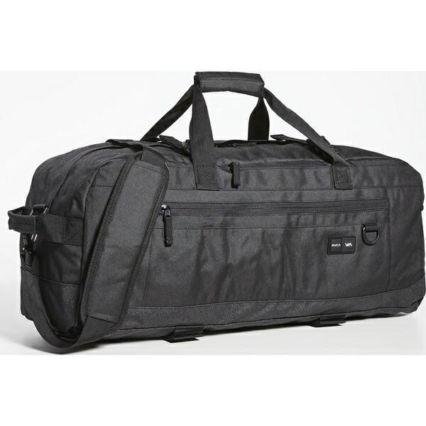 3 スケート (取寄)ルーカ Black Duffel RVCA ダッフル III Bag Skate バッグ
