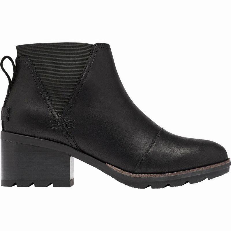 (取寄)ソレル レディース ケイト チェルシー ブーツ Sorel Women Cate Chelsea Boot Black