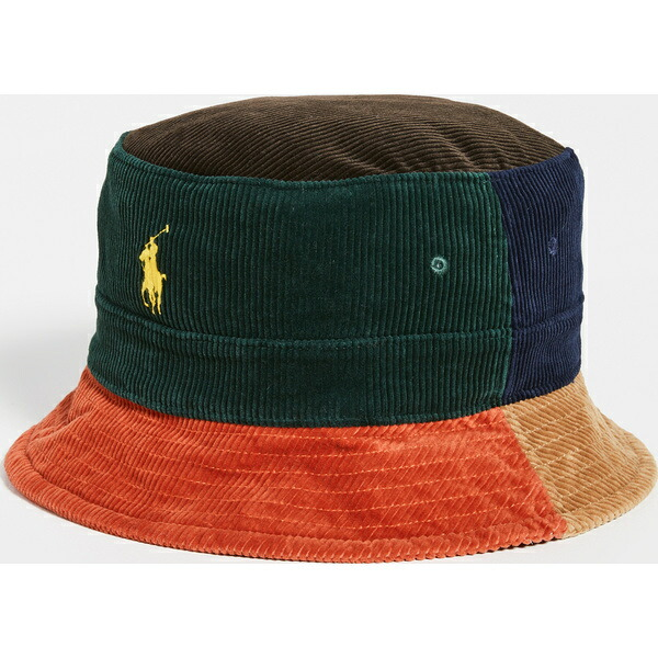 Bucket Hat Heritage Lauren Ralph Polo (取寄)ポロ バケット ヘリテージ ラルフローレン Multi ハット