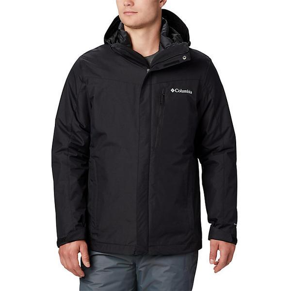 Columbia コロンビア 入荷予定 スキー スノーボード ハイキング 登山 マウンテン アウトドア ウェア アウター ジャケット メンズ 大きいサイズ Jacket 取寄 Men's Whirlibird IV ウィリバード ブランド Black Interchange ビックサイズ 人気の製品 インターチェンジ