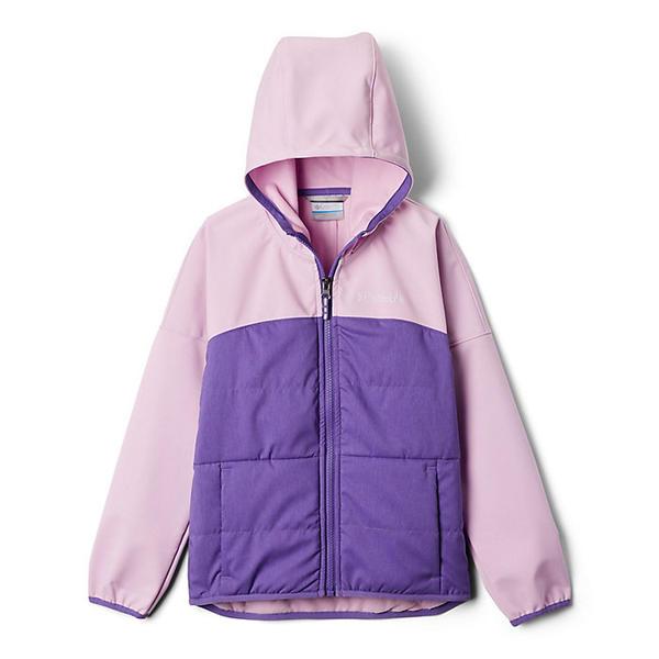 Columbia コロンビア キッズ ウェア レディースサイズ アウトドア 迅速な対応で商品をお届け致します 登山 ブランド カジュアル スーパーセール期間限定 ストリート スポーツ 取寄 ユース ガールズ テイク Jacket ハイク Gum Hike Take a Clover ジャケット Girls Pink Youth A Softshell Grape ソフトシェル