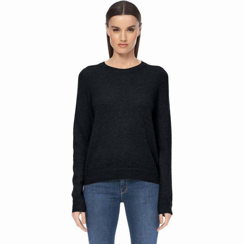 ファッション ブランド カジュアル ストリート ランキングTOP5 アウトドア セーター トップス レディース 最安値挑戦 大きいサイズ 360 Cashmere Women Sweater Black レイラ Leila 取寄