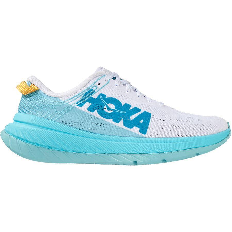 スニーカー シューズ 倉庫 靴 期間限定 ファッション ブランド ストリート レディース 大きいサイズ 取寄 ホカ オネ カーボン X Women ランニング Angel Carbon Running Shoes ONE White HOKA Shoe Blue