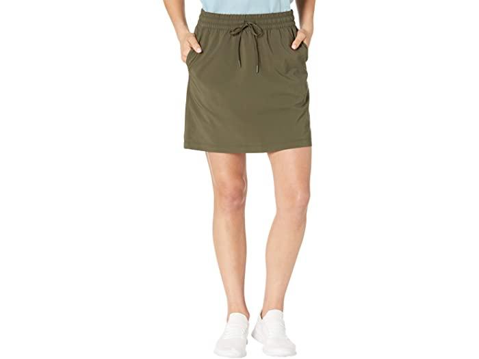 The North Face ノースフェイス スカート レディース ショート アウトドア ブランド カジュアル [正規販売店] 取寄 Wearing Green Women's 日本限定 ウェアリング New Taupe Never Stop ストップ Skirt ネバー