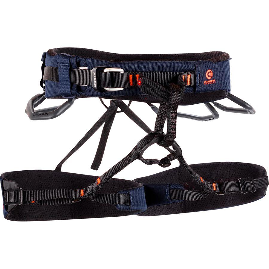 Mammut マムート ハーネス クライミング ボルダリング トレッキング 登山 アウトドア ブランド ファッション トラベル  (取寄)マムート コンフォート ニット ファスト アジャスト ハーネス - メンズ Mammut Comfort Knit Fast Adjust Harness - Men's Marine/Safety Orange