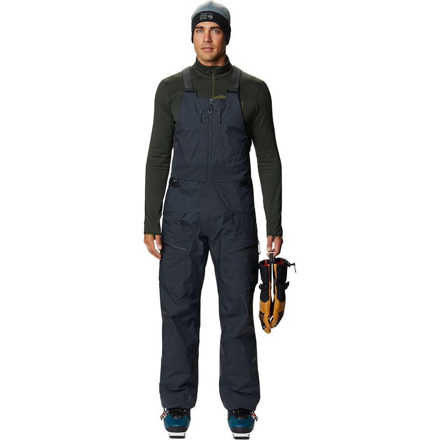 【数量限定】 (取寄)マウンテンハードウェア プロ ビブ パンツ - メンズ Mountain Hardwear The Viv GORE-TEX Pro Bib Pant - Men's Dark Storm, うなぎ屋かわすい 川口水産 3ee3234a