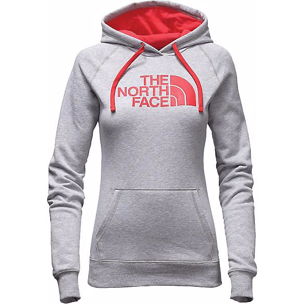 564229753 North face Hoodie Womens half dome pullover gray The North Face Women Half  Dome Hoodie Pullover ...