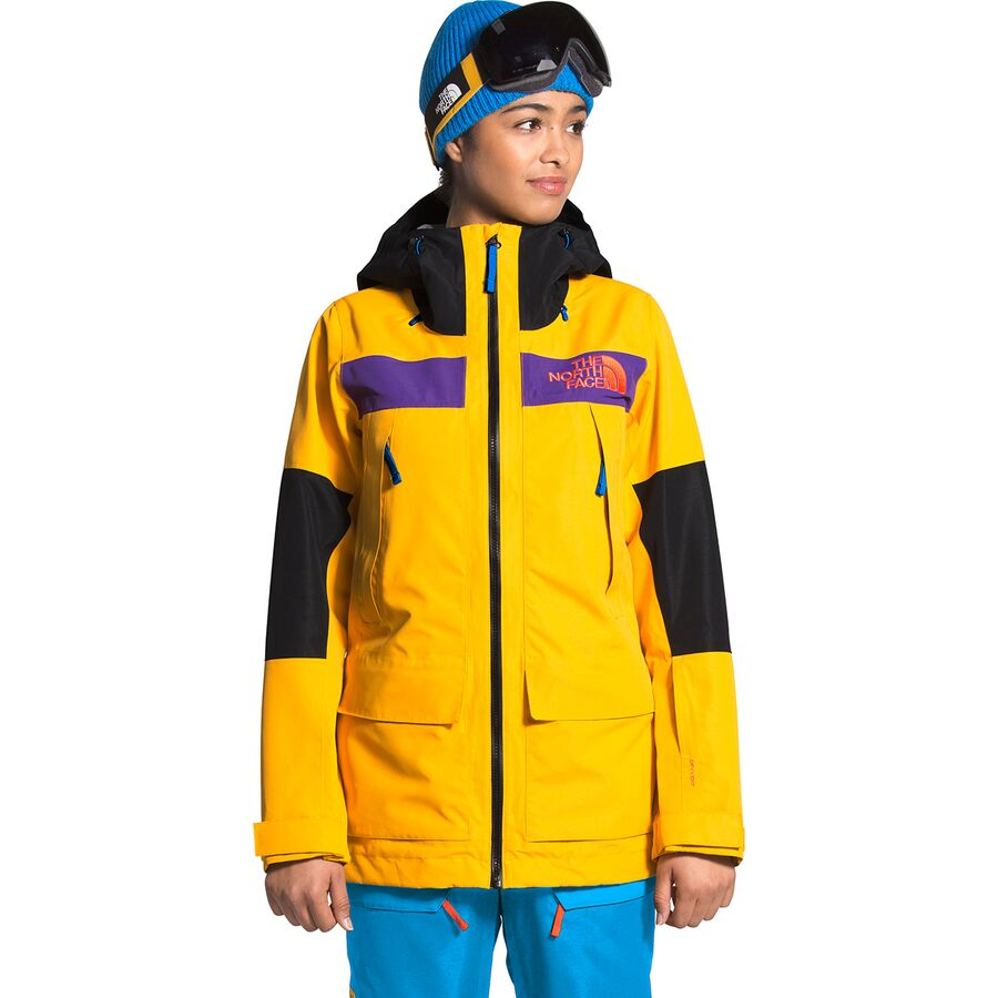 The North Face ノースフェイス ジャケット アウター レディース スノーボード ハイキング 登山 マウンテン アウトドア ウェア 大きいサイズ ビックサイズ (取寄)ノースフェイス レディース チーム キット ジャケット - ウィメンズ The North Face Women's Team Kit Jacket - Women's Summit Gold/Bomber Blue/TNF Black