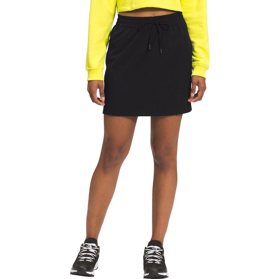 爆売りセール開催中 公式ストア The North Face ノースフェイス スカート レディース ショート アウトドア ブランド カジュアル 取寄 ネバー ウィメンズ - Women's Black ウェアリング Wearing Skirt Never TNF Stop ストップ