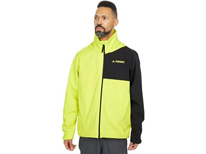 (取寄)アディダス メンズ マルチ ジャケット adidas Outdoor Men's Multi RAIN.RDY Jacket Acid Yellow/Black