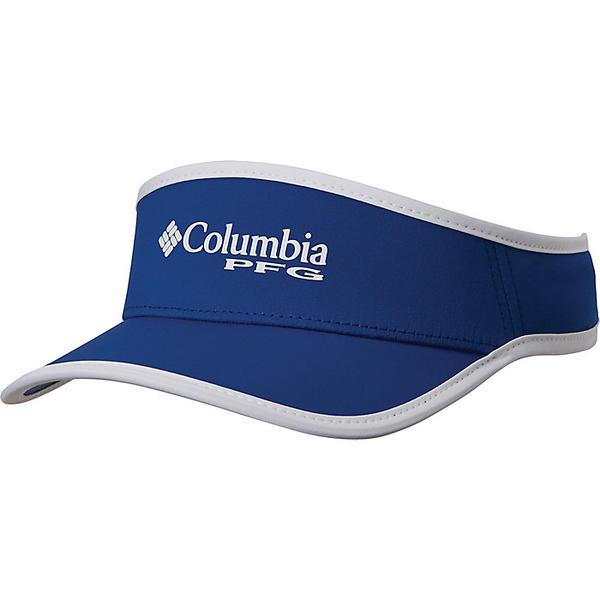 Columbia コロンビア サンバイザー 帽子 キャップ ブランド 登山 アウトドア 人気ブランド カジュアル ストリート 取寄 開店祝い PFG White バイザー Carbon Signature フィッシング Visor パフォーマンス シグニチャー 110 ギア