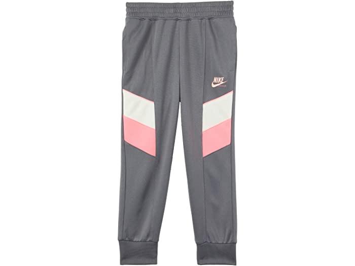 NIKE ナイキ キッズ パンツ 長ズボン ロングパンツ ジャージ ガールズ ジュニア スポーツ ブランド カジュアル 大きいサイズ ビックサイズ (取寄)ナイキ ガールズ キッズ スポーツウェア ヘリテージ ジョガー パンツ (リトル キッズ) Nike Girl's Kids Sportswear Heritage Jogger Pants (Little Kids) Smoke Grey