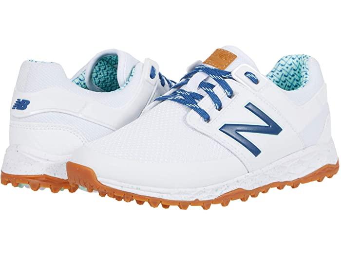New Balance ニューバランス レディース ゴルフシューズ 靴 ブランド スポーツ 女性 大きいサイズ ビックサイズ カジュアル ファッション 取寄 Links White Women's Golf リンクス フレッシュ Fresh Blueprint アウトレット ベータ 新着セール フォーム Foam SL