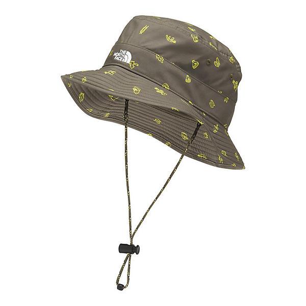 The North Face ノースフェイス ハット 帽子 Hat キッズ ジュニア ブランド カジュアル ストリート 大特価 アウトドア 取寄 Camp Brimmer Green ブリマー Taupe V Print 売却 Class クラス Essentials Youth ユース New