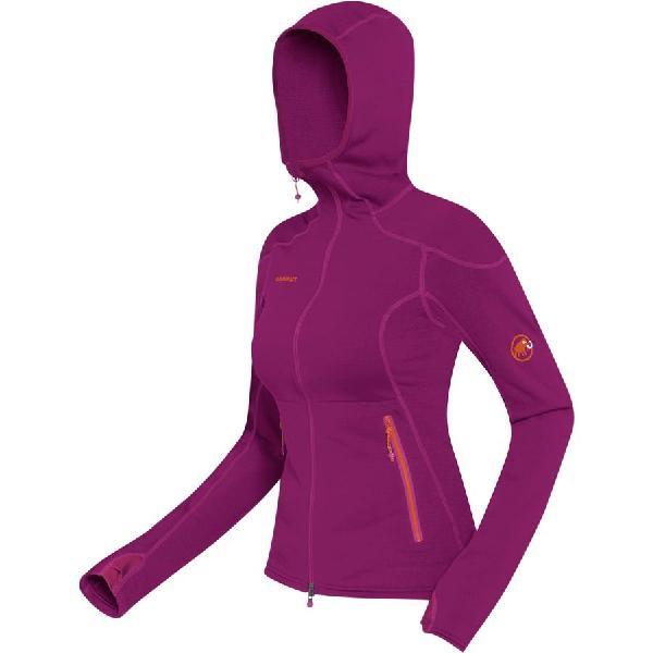 (取寄)マムート レディース Schneefeld フリース ジャケット Mammut Women Schneefeld Fleece Jacket Dark Pink 【コンビニ受取対応商品】