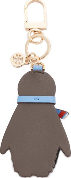 (索取)toribachipitopenginkichiein Tory Burch Pete Penguin Key Chain