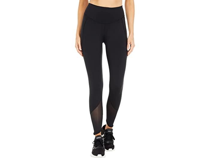 adidas アディダス パンツ レディース フィットネス トレーニング スポーツ ブランド 女性 カジュアル 大きいサイズ ビックサイズ 取寄 8 SALE パワー Black Power 7 Women's メッシュ タイツ Mesh ヨガ Tights スーパーセール期間限定 Yoga