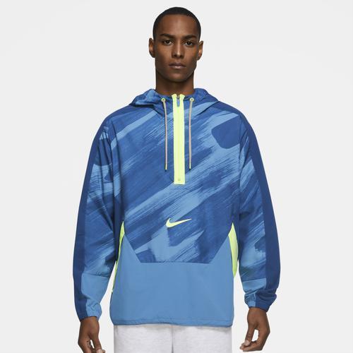 NIKE ナイキ ウェア ファッション ブランド (取寄)ナイキ メンズ ドライフィット SC ウーブン フーデット ジャケット Nike Men's Dri-FIT SC Woven Hooded Jacket Court Blue Volt