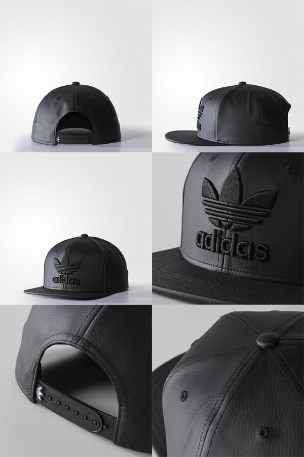 49eee59a5761b ... Adidas originals Cap plus structured Cap Black Black adidas ORIGINALS  Plus Stractured Cap
