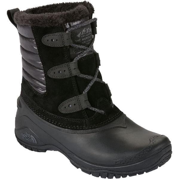 (取寄)ノースフェイス レディース シェリスタ 2 ショーティ ブーツ The North Face Women Shellista II Shorty Boot Tnf Black/Smoked Pearl Grey 【コンビニ受取対応商品】