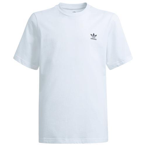 早割クーポン adidas アディダス ウェア ファッション ブランド 取寄 ボーイズ エッセンシャル Tシャツ - Boys Grade Black Boys' School グレード Essential スクール White T-Shirt 新作入荷