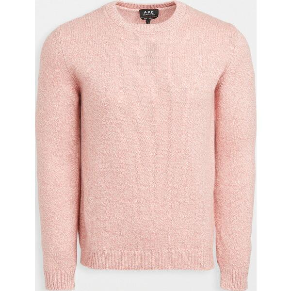 A.P.C. アーペーセー メンズ トップス 新作通販 ニット セーター ブランド 取寄 Pull Sweater RosePoudre Men's プル Down 日本未発売 ダウン