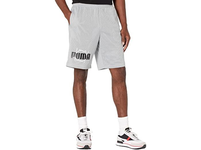 PUMA プーマ メンズ 通販 パンツ スポーツ フィットネス トレーニング ブランド ジム ウェア 男性 大きいサイズ ショーツ メッシュ Practice 取寄 ストリート Mesh Men's ビックサイズ プラクティス Quarry 限定品 Shorts