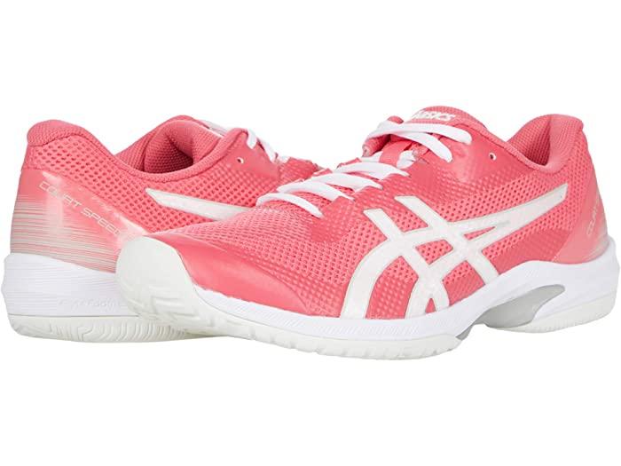 ASICS アシックス レディース シューズ 靴 テニス スポーツ ブランド 女性 大きいサイズ いよいよ人気ブランド ビックサイズ FF 大決算セール White Court Pink スピード Speed コート Women's 取寄 Cameo