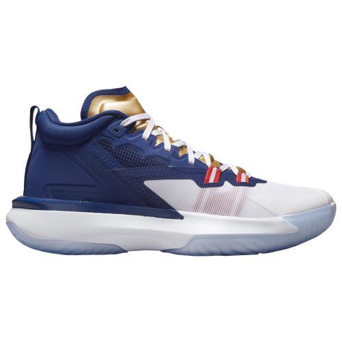 JORDAN ジョーダン 靴 シューズ スニーカー ファッション ブランド (取寄)ジョーダン メンズ シューズ ザイオン 1 Jordan Men's Shoes Zion 1 Navy Red White