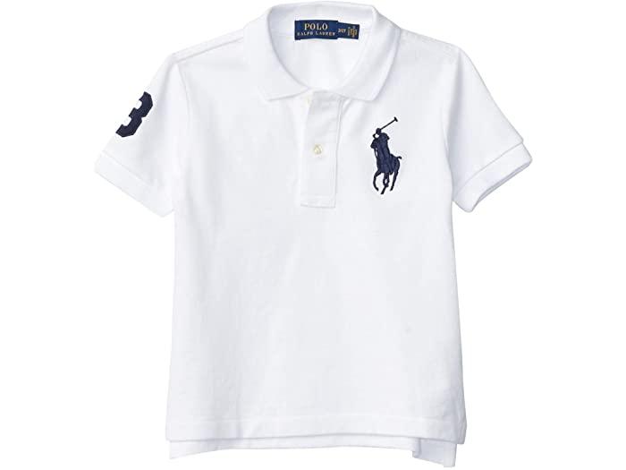Polo Ralph Lauren ポロ ラルフローレン キッズ Tシャツ シャツ インナー トップス ベビー 幼児 ファッション ブランド メッシュ コットン White Cotton メール便対応 トドラー Mesh ボーイズ 取寄 Toddler 在庫限り Shirt 迅速な対応で商品をお届け致します Boy's Kids