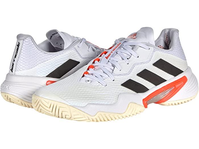 adidas 現金特価 アディダス レディース 買い物 シューズ 靴 テニス スポーツ ブランド 女性 大きいサイズ ビックサイズ Women's バリケード Solar Shoes Tennis White Black Barricade 取寄 Red 12