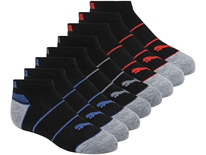 PUMA プーマ キッズ 靴下 ソックス レッグウェア ジュニア ブランド スポーツ ファッション 大きいサイズ ビックサイズ 取寄 Red 発売モデル Boy's パック Pack Socks Low Black Cut ボーイズ カット 8 ロウ 新作 人気