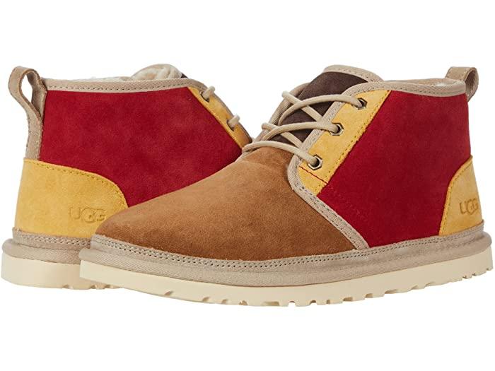 UGG アグ メンズ トレンド チャッカブーツ 靴 シューズ ブーツ カジュアル ファッション 男性 大きいサイズ 正規品 取寄 ニューメル Mashup Neumel (人気激安) Chestnut Red マッシュアップ Samba ビックサイズ Men's
