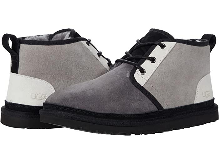 UGG アグ メンズ 安い 再再販 チャッカブーツ 靴 シューズ ブーツ カジュアル ファッション 男性 大きいサイズ 取寄 ニューメル Dark Mashup 正規品 Men's Grey Seal Neumel ビックサイズ マッシュアップ