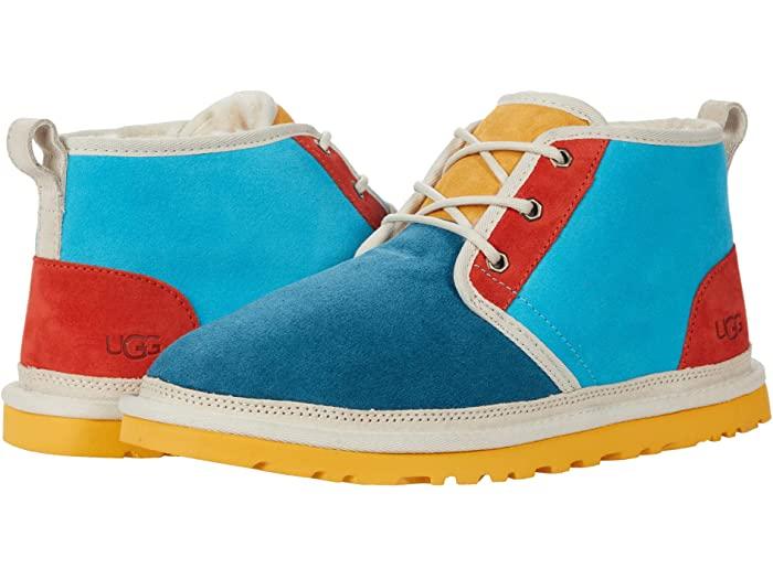 UGG 絶品 アグ メンズ チャッカブーツ 靴 シューズ ブーツ カジュアル ファッション 男性 大きいサイズ Neumel Men's Marina Mashup Oasis ニューメル ビックサイズ Blue 取寄 入荷予定 正規品 マッシュアップ
