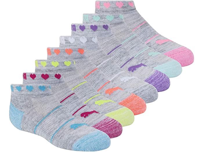 PUMA プーマ キッズ 靴下 ソックス レッグウェア ジュニア 上品 ブランド スポーツ ファッション 大きいサイズ ビックサイズ 取寄 Low ガールズ 8 Socks Cut Green ロウ Girl's White パック 市販 カット Pack