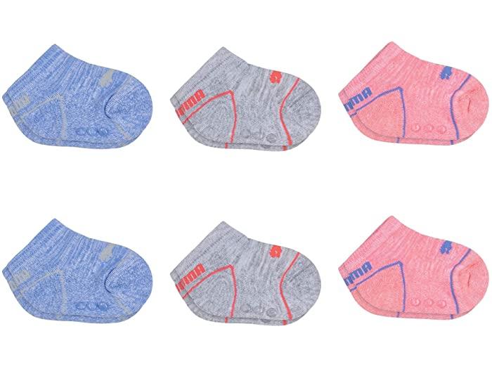 PUMA プーマ キッズ 靴下 ソックス レッグウェア ジュニア ブランド スポーツ ファッション 大きいサイズ ビックサイズ Socks ノー 購入 安心と信頼 Pack No ショー Bright Pink 6 Show 取寄 Kid's パック