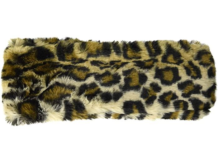 Calvin Klein カルバンクライン ヘアバンド ヘッドバンド レディース ブランド 日本正規代理店品 カジュアル 女性 ストリート フォー 定番から日本未入荷 Women's Faux Leopard レオパード ファー 取寄 Fur Headband