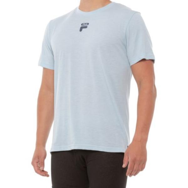 メンズ トップス ルームウェア ナイトウェア 寝間着 パジャマ ブランド 男性 大きいサイズ ビックサイズ 取寄 フィラ ロゴ Men スラブ Sleep Logo Fila 祝日 40%OFFの激安セール スリープ men シャツ Sky Shirt For Slub
