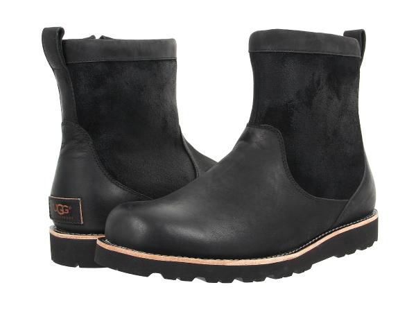 (取寄)アグ ブーツ メンズ ヘンドレン TL UGG Men's Hendren TL Black Leather