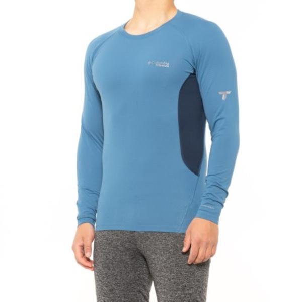 メンズ Tシャツ トップス カットソー ブランド カジュアル ファッション 男性 大きいサイズ ビックサイズ 取寄 コロンビア スポーツウェア オムニヒート 3D ニット ベース Navy Blue Sportswear トップ Omni-Heat Columbia Men 低価格 Scout Knit Top レイヤー Collegiate men Layer For Base ランキング総合1位