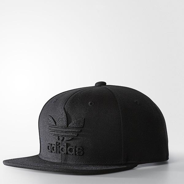 アディダス オリジナルス キャップ チェイン スナップバック キャップ 黒 ブラック adidas ORIGINALS Chain Snapback cap B94089