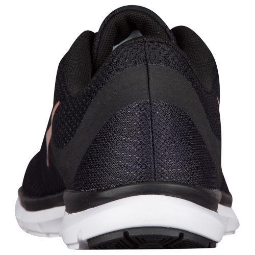 (索取)naikiredisufurekkusutorena 6 Nike Women's Flex Trainer 6 Black White Metallic Red Bronze
