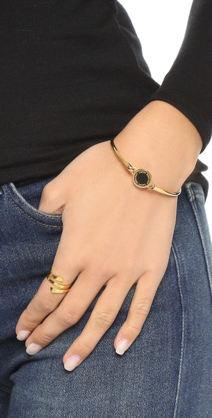 1361606e45908 ... Mark Jacobs enamel logo disk hinge bracelet Marc Jacobs Enamel Logo Disc  Hinge Bracelet ...