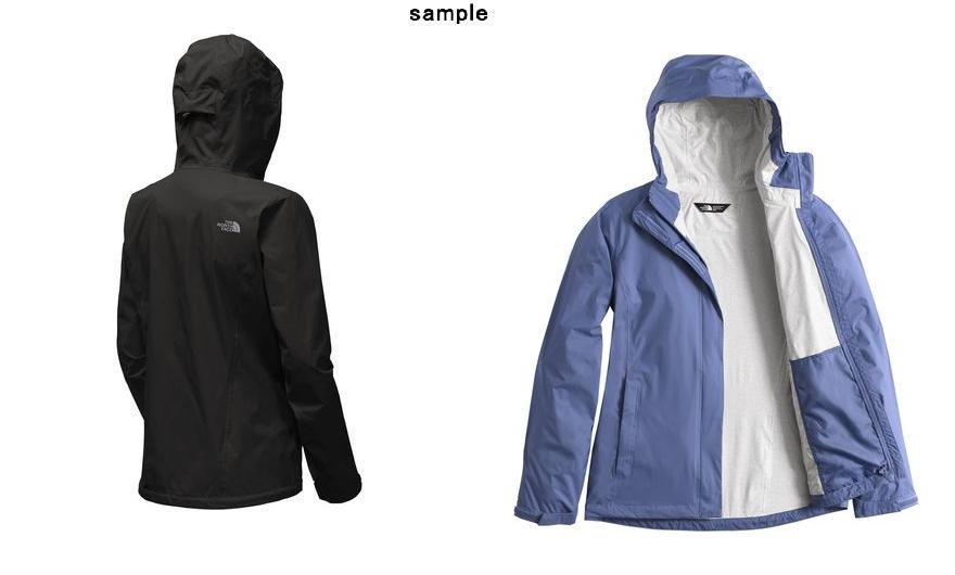 794417c09 (order) North Face Lady's venture 2 jacket The North Face Women Venture 2  Jacket Tnf Black