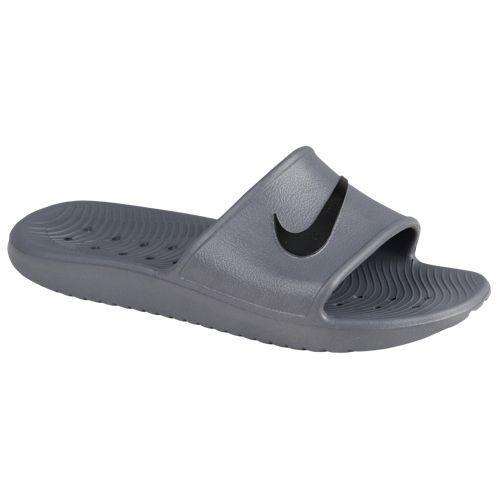 (取寄)Nike ナイキ メンズ サンダル カワ シャワー スライド Nike Men's Kawa Shower Slide Dark Grey Black