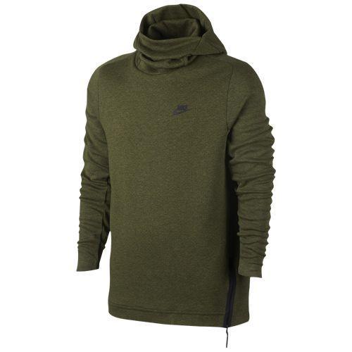(取寄)Nike ナイキ メンズ パーカー テック フリース プル オーバー フーディ Nike Men's Tech Fleece Pull Over Hoodie Legion Green