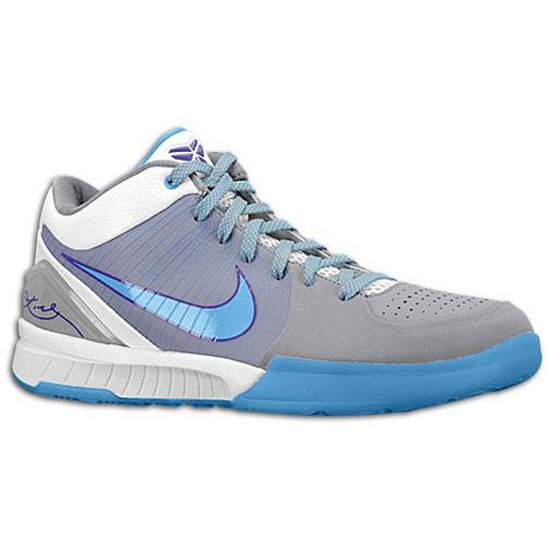 (索取)耐克人变焦距镜头科B 4 Nike Men's Zoom Kobe IV Stealth University Blue