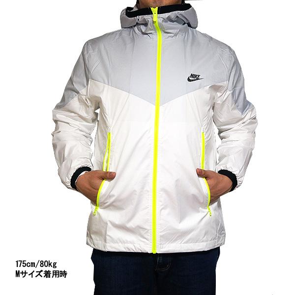 NIKE ウインドブレーカーナイキメンズウインドランナージャケットパッカブル Nike Men's WINDRUNNER Pure Platinum